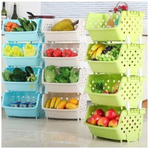 15 Genius DIY Fruit and Vegetable Storage Ideas for Tiny Kitchens - Image 15 of 19 #kitchenstorageideas