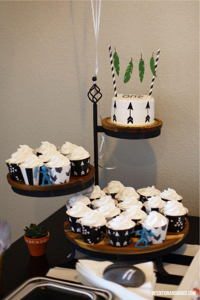 Wild One First Powwow Teepee Birthday Party Theme