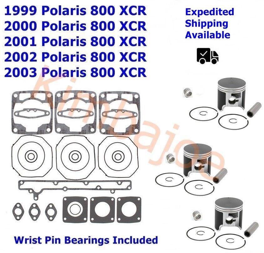 polaris 800 xcr 72 mm std bore spi pistons bearings gasket set rh pinterest com