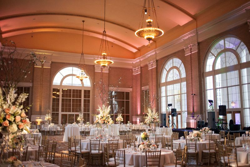 Union Train Station Dallas Weddings 26 Wedding Peach Mint