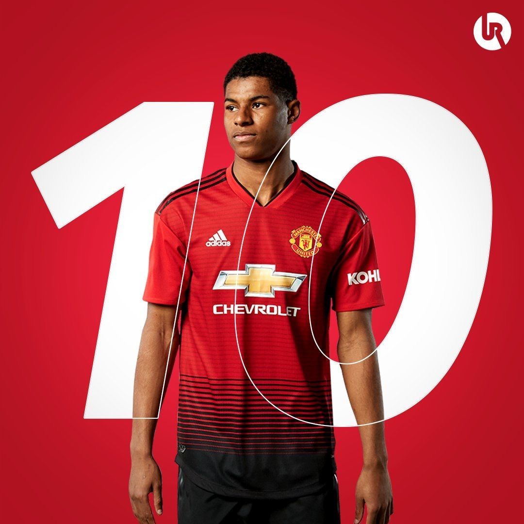 Jose Announces That Marcus Rashford Will Play Number 10 Manchester United Manchester Futebol
