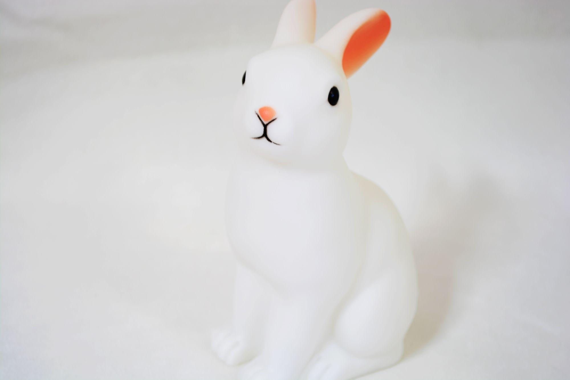 토끼 램프