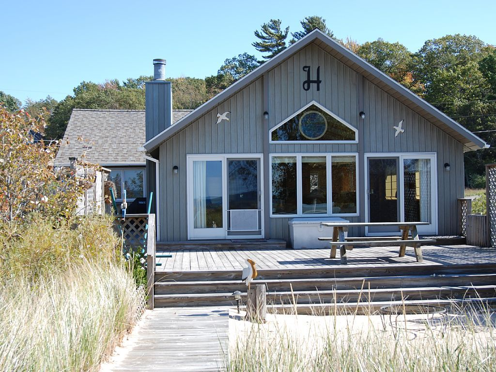fall getaway vrbo com 4082029ha lake michigan no bluff vacation rh pinterest com