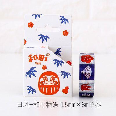 Diy Japanese Washi Masking Deco Tape ,Japanese Icon, Japanese Elements, Japan, Sakura,Paper Crane,Fan,Fujiyama,Fuji by BellaByYaya on Etsy https://www.etsy.com/listing/475023188/diy-japanese-washi-masking-deco-tape