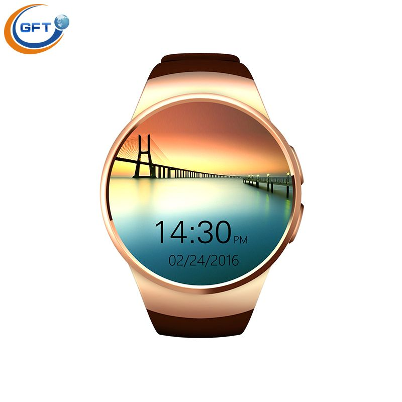 Gft Kw18 Smart Watch Sim Smartwatch Smart Pulsuhr Rufen Sie Ihren Freund Als Smartphone Mit Pulsmesser Passomet Smart Watch Android Smart Watch Bluetooth Watch