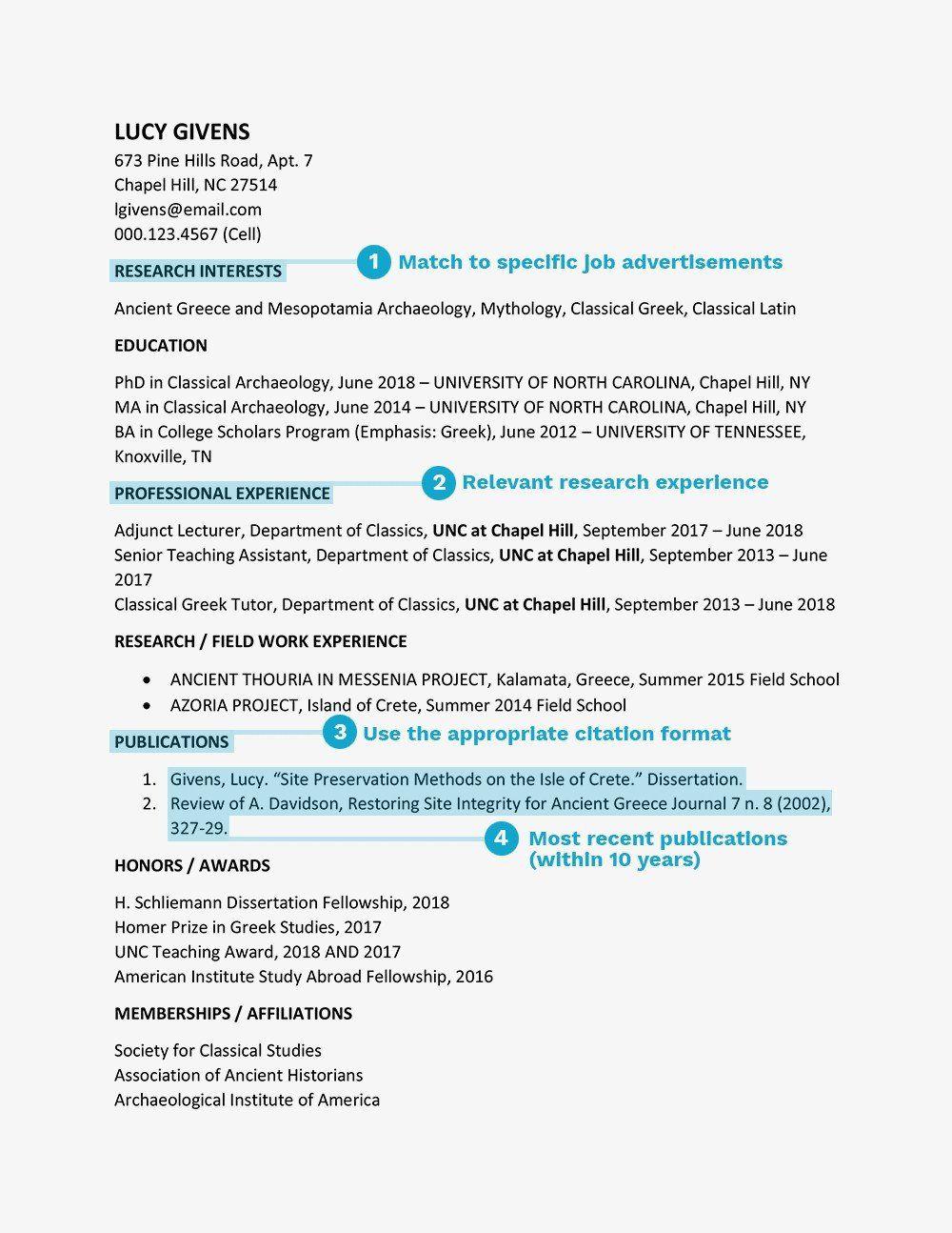 Latin Honor On Resume Vita Curriculum Vitae Template Example Best Dissertation Fellowship 2017