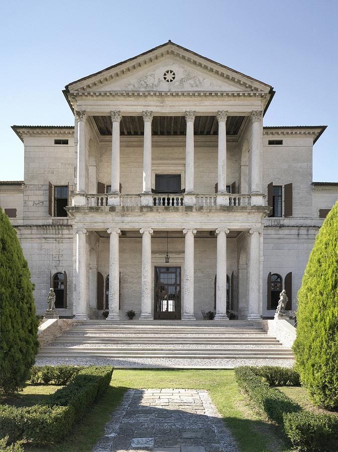 Andrea di pietro della gondola palladio villa cornaro for Architettura case