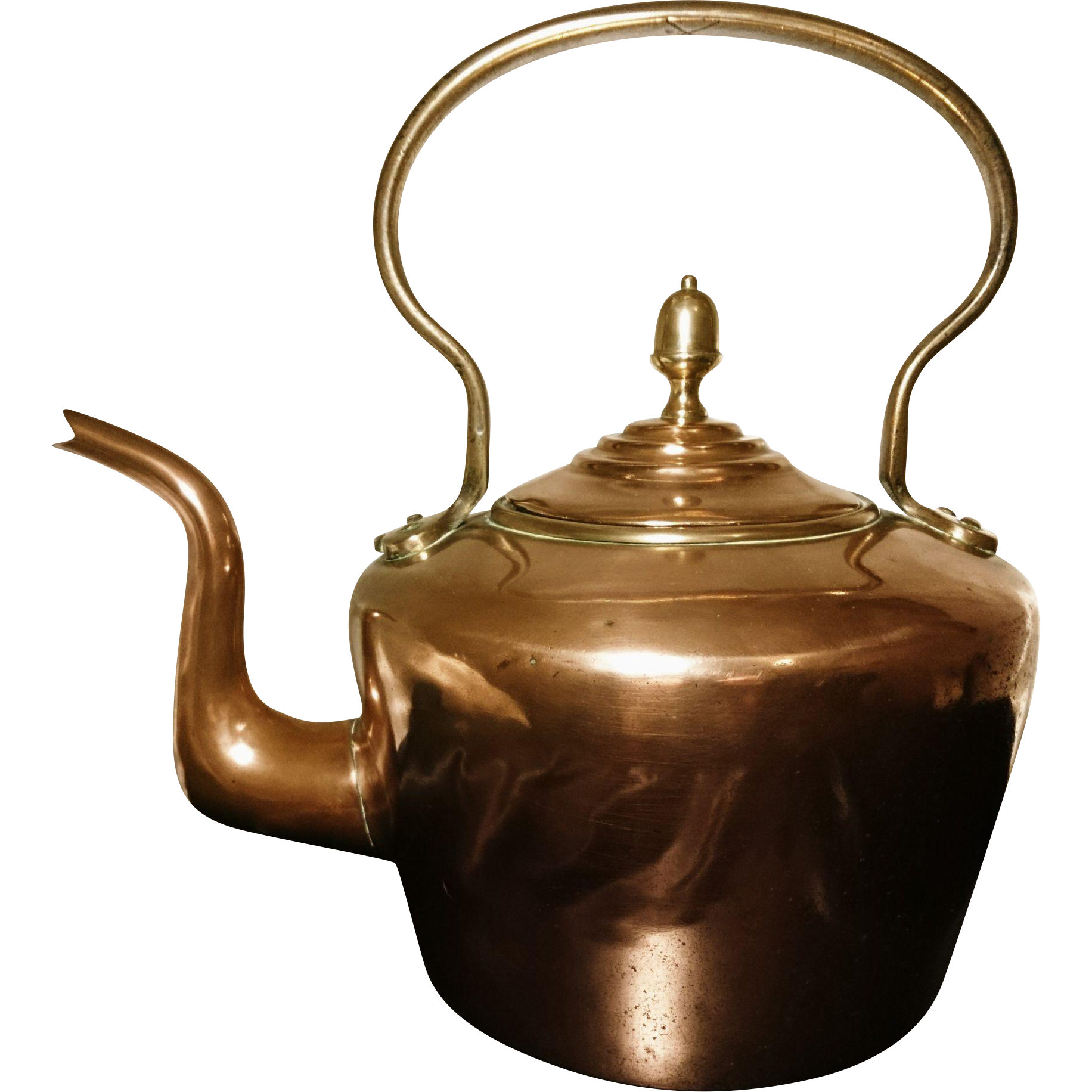 victorian copper kettle traditional english antique stove top