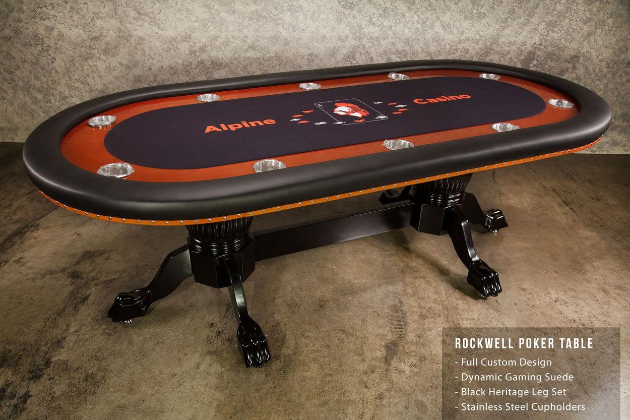 The Rockwell Poker Table Is Classic And Beautifully Crafted Poker Table That Also Has A Dining Top Best Of Both