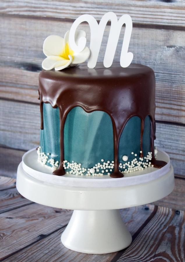Drip Cake Cake By Anchored In Cake With Images Drip