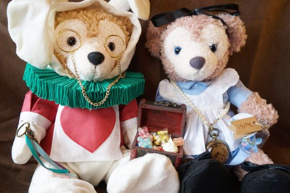 Peluche Chat Alice Au Pays Des Merveilles Duffy Shelliemay Plush Bears Outfit Doll Clothes Dress Made To Order Deposit Page