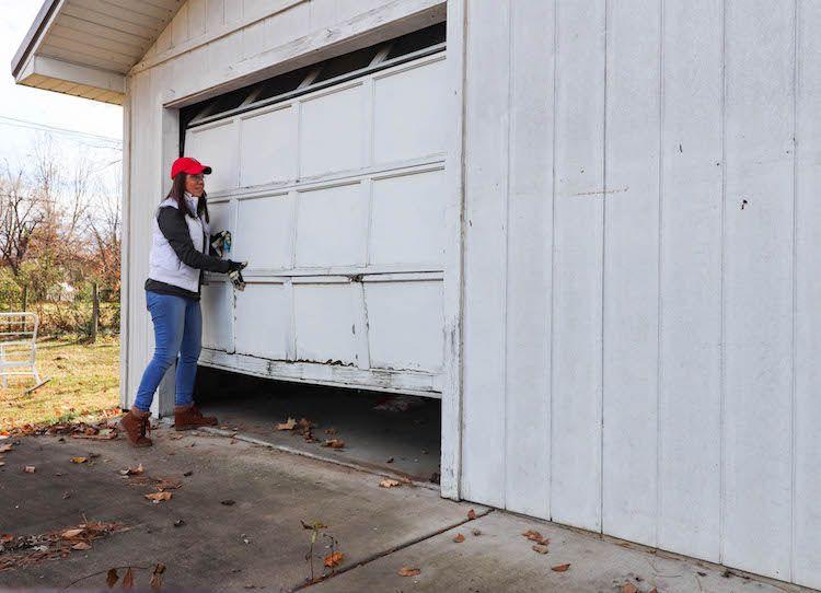 From Garage To Airbnb Convert A Garage Into An Apartment Garage Door Design Garage Door Colors Garage Doors