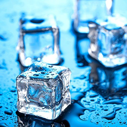 Acrylic Clear Ice Rock Diamond Crystals Rocks Fake Ice Cubes for Decoration