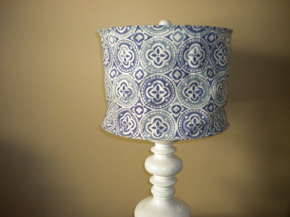 14D x 9 Lamp Shade by warpandweave on Etsy