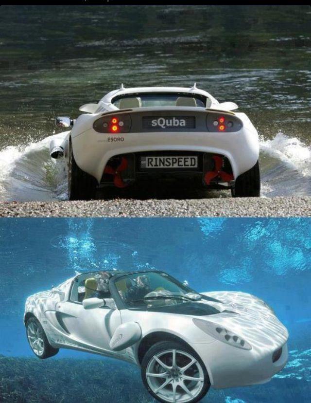 world first underwater car the squba developed by swiss company rh pinterest com mx
