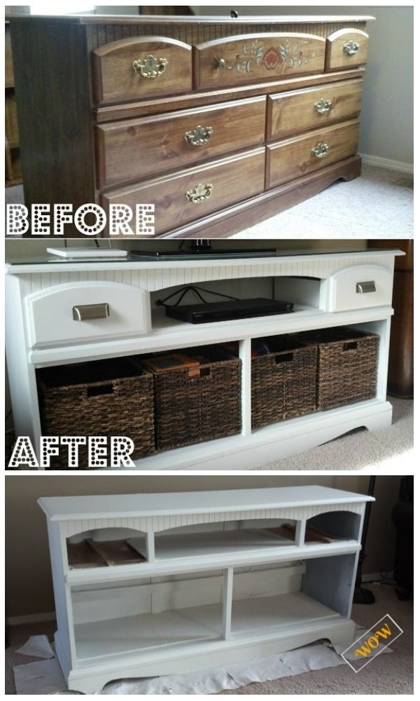 Awesome Old Dresser Makeover Ideas With