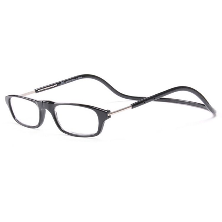 d15974e1fe Adjustable Front Connect Reader Fashion Hot clic Long temple Hang neck  magnet reading glasses wholesale magnetic