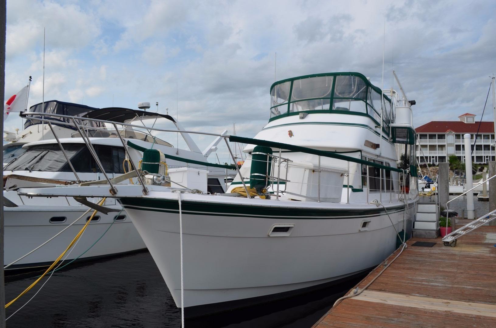 47 Atlantic Motor Vessel: 1980 Atlantic 44 Motor Yacht Power Boat For Sale