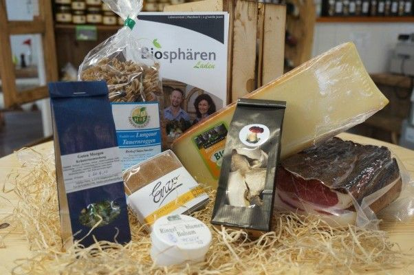 Win this Luxury Austrian Food and Drink Hamper with austrian produce from the Lungau region in the Austrian Alps