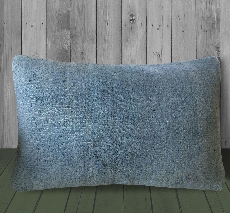 Vintage Kilim Pillow Sofa Throw Pillow Bohemian Sham Cover Cushion Cover Ethnic Carpet Pillow 12x20 Turkish Kilim Pillow Lumbar Pillow