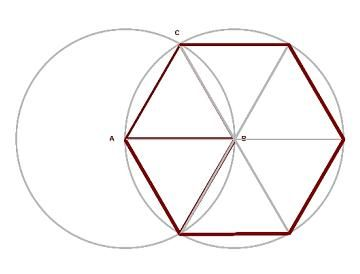 Irregular heptagon