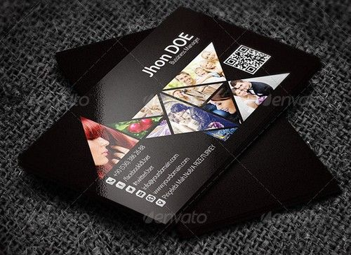 Design Business Card With In Hours Photography Business Cards - Photography business cards templates free