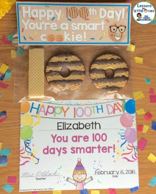 100th Day of School Ideas & Treats