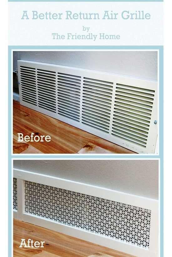 Definitely Doing This For All The Big Vents In My House Love It Home Projects Diy Home Improvement Cheap Home Decor