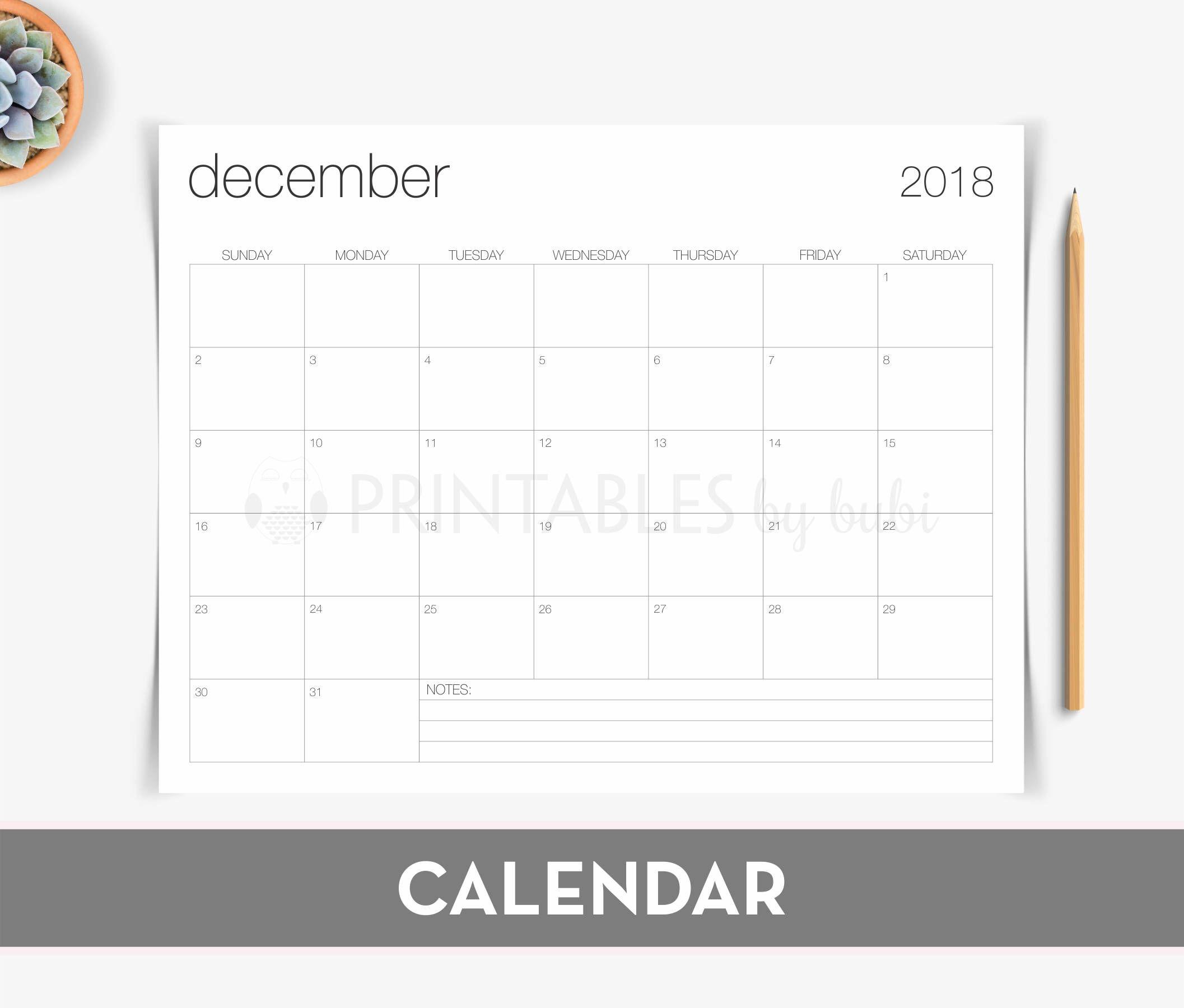 Calendar Printable  Wall Calendar Printable Calendar