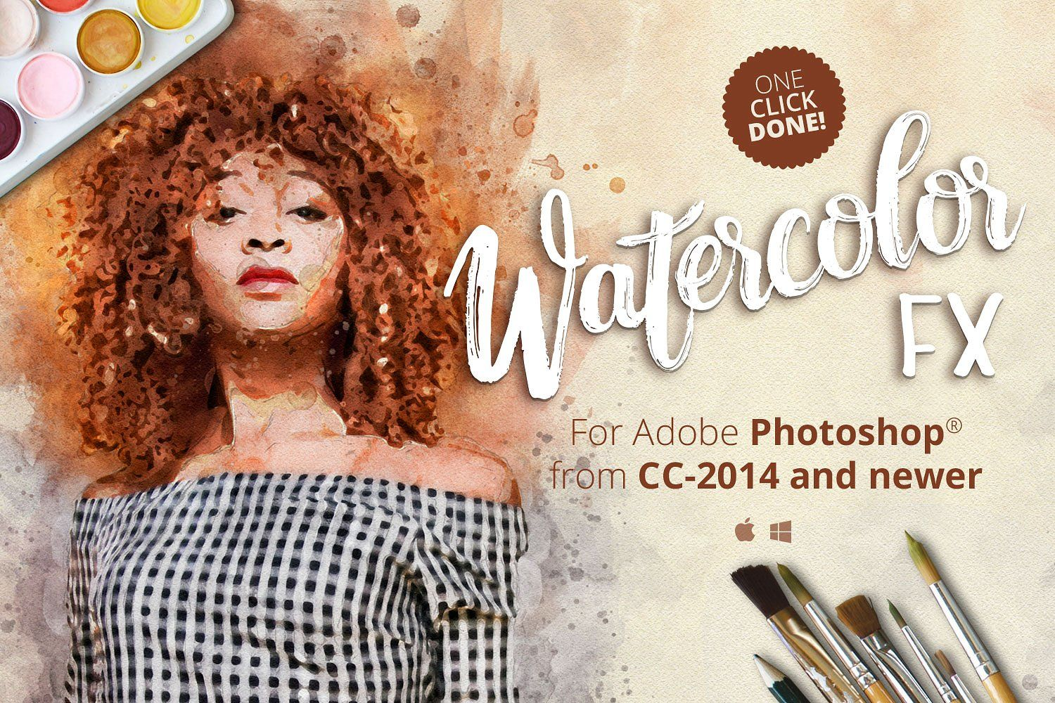 Watercolor Fx Photo Effect Plugin By The Orange Box Com On
