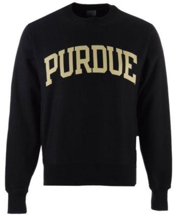 d683409b Champion Men's Purdue Boilermakers Reverse Weave Crew Sweatshirt - Black XXL