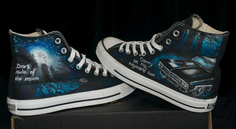 Canvas Warriors-Supernatural Custom Converse  bdcc3e7e824c2