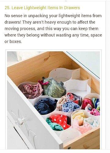 organizing drawers m o v i n g diy drawer dividers diy drawers rh pinterest com