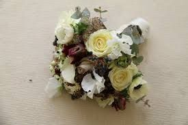 white and aubergine wedding flowers - Google Search