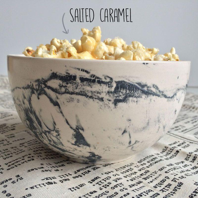 Popcorn met salted caramel