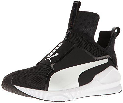 Puma Damen Fierce Core High-Top Schwarz Weiß 42,5 EU Entworfen, um ... 644cb600ed