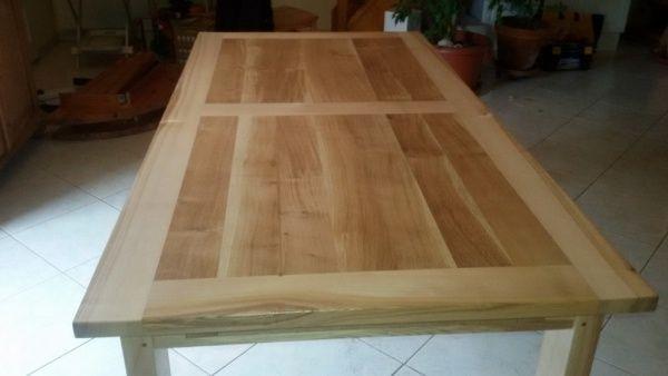 Table En Frêne Et Chêne Par Slick Table Bois Massif Table