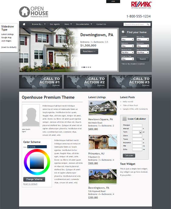 This Real Estate Wordpress Theme Offers A Version For Car