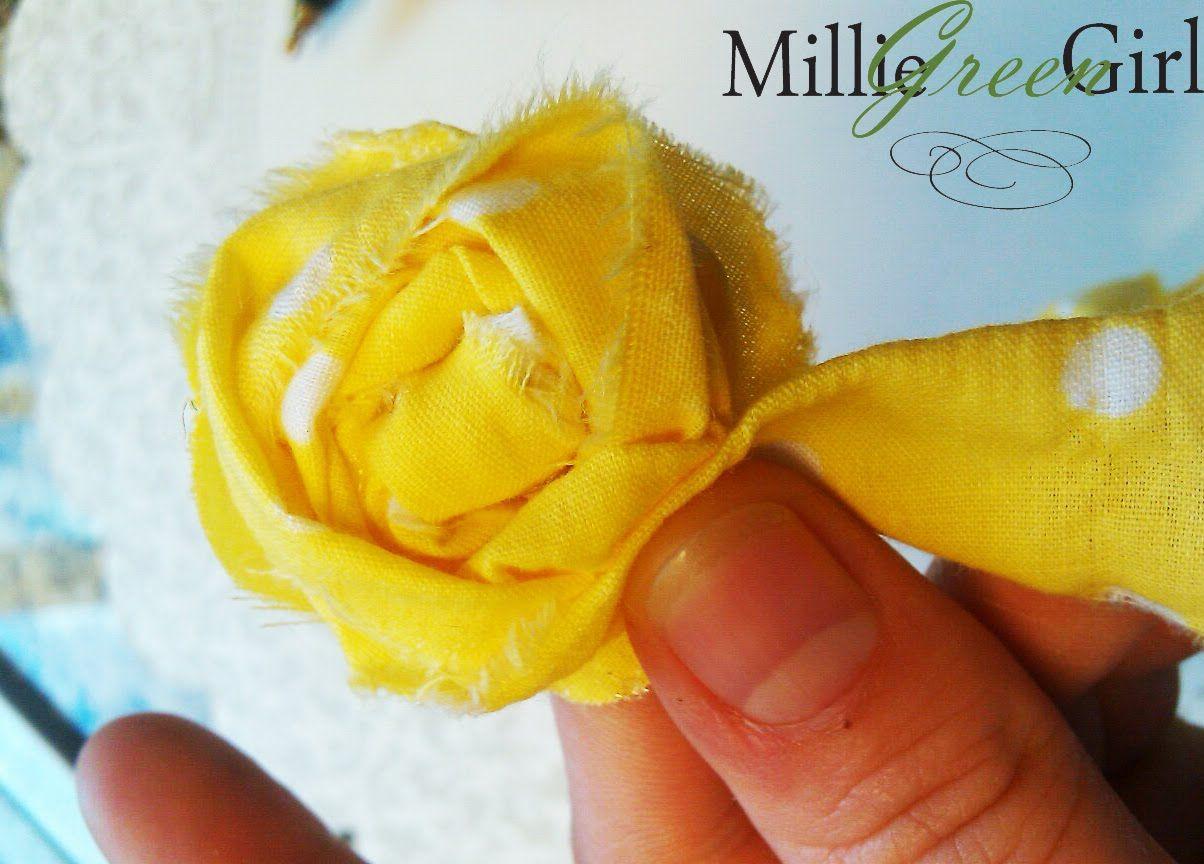 kraftymillie: Tutorial on making rosette flower