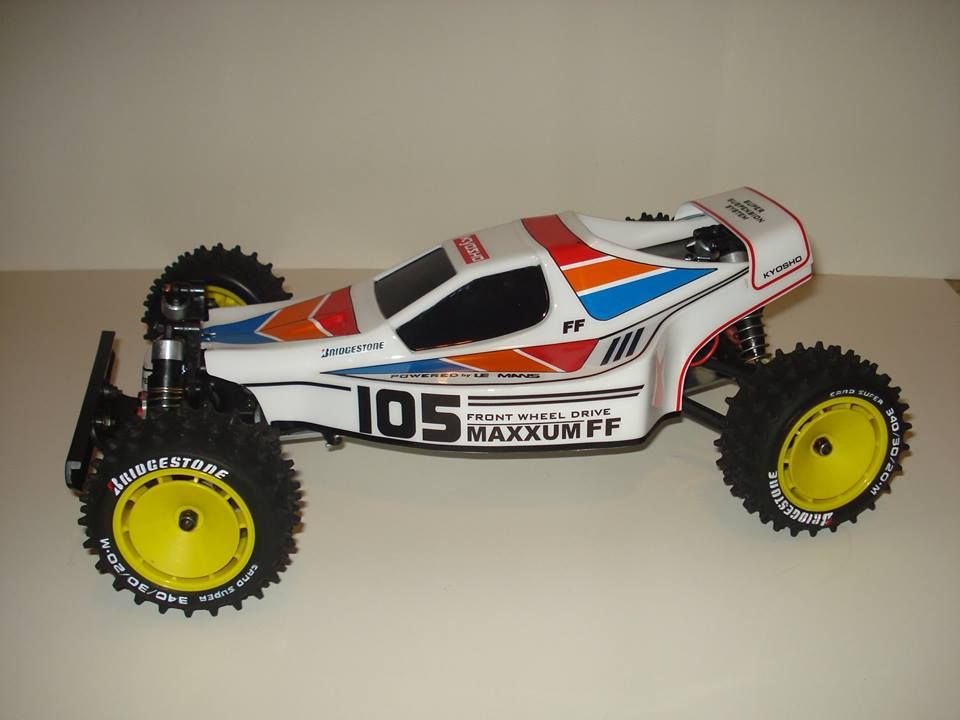 kyosho maxxum ff front wheel drive 1988 my vintage rc collection rh pinterest co uk