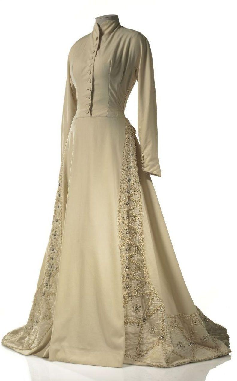 Raw silk wedding dress  Circa  Wedding Dress by Caracciolo Ginetti Giovanna for Caraso