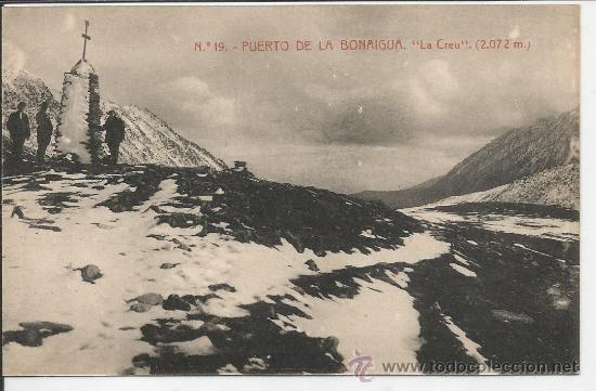 """Port de la Bonaigua.  Núm. 19. Puerto de la Bonaigua. """"La Creu"""" (2072 m)"""