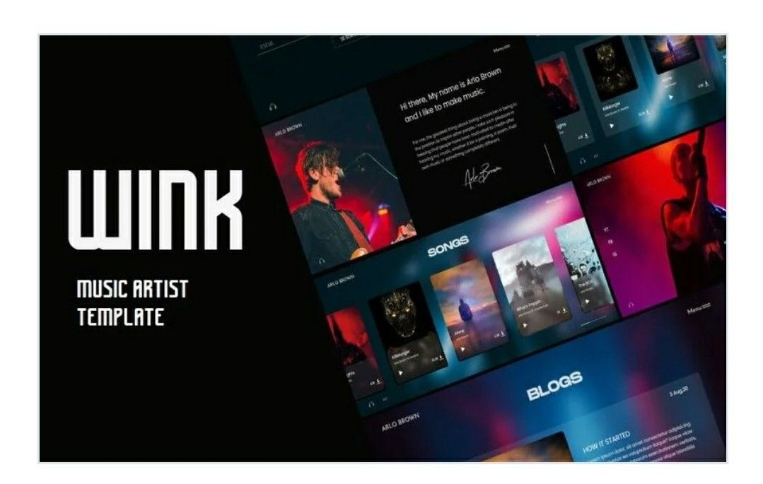Pin On Html Template