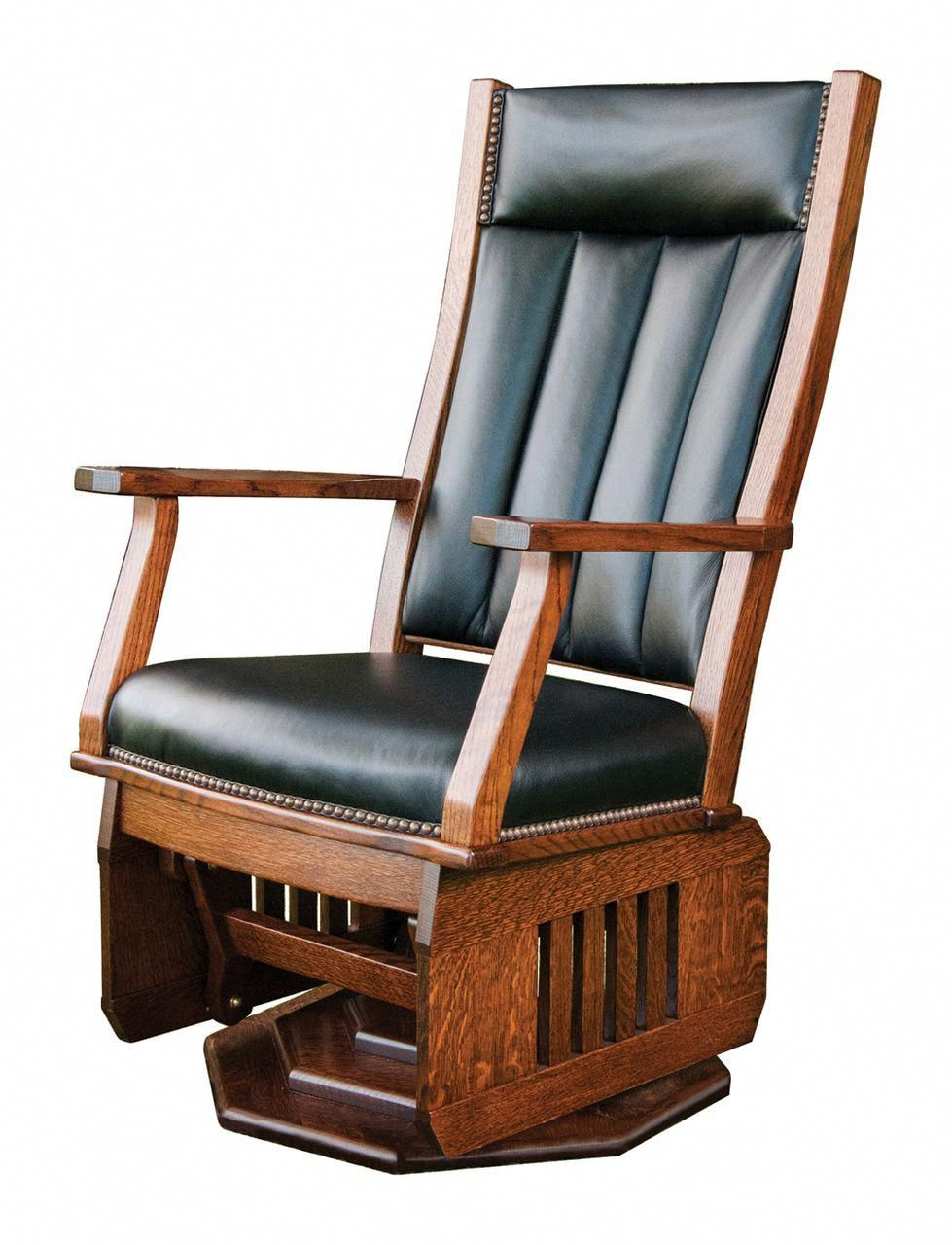 missionchair eames rocking chair gliders swivel glider amish rh pinterest com