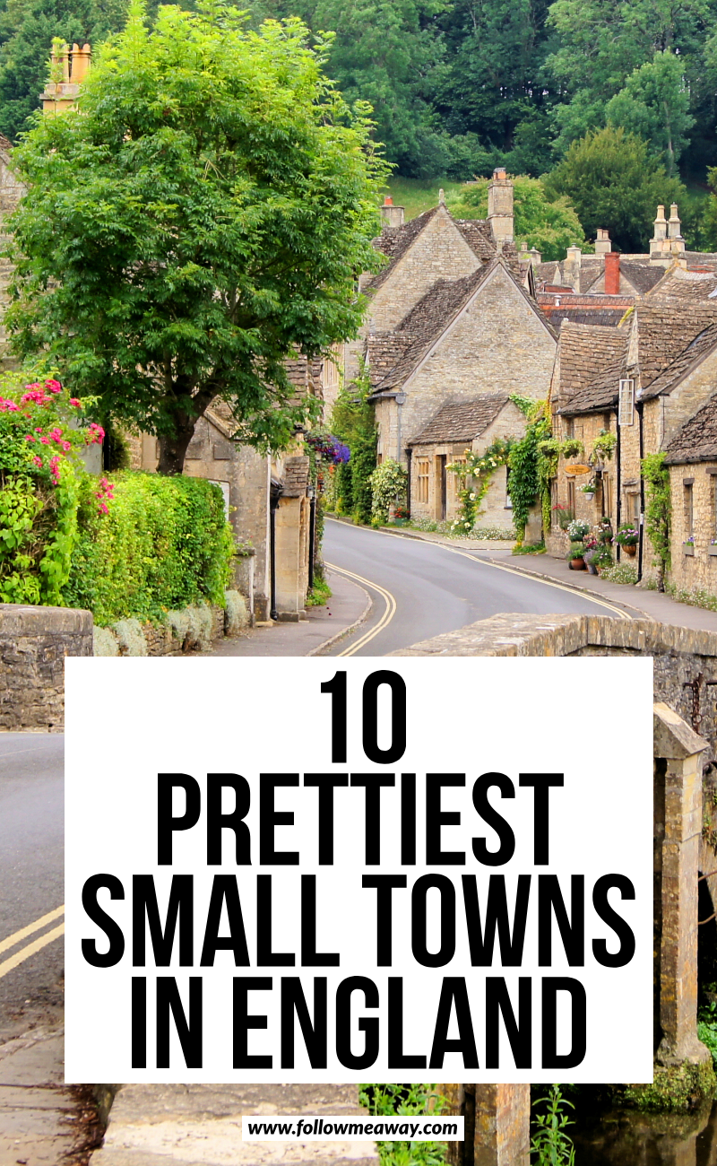 10 Pretty English Villages Out of a Fairytale #travelengland