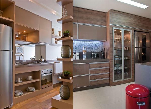 Armario Baixo ~ armario de cozinha planejado 06 Casa e Decoraç u00e3o Pinterest Armarios de cozinha, Armário e