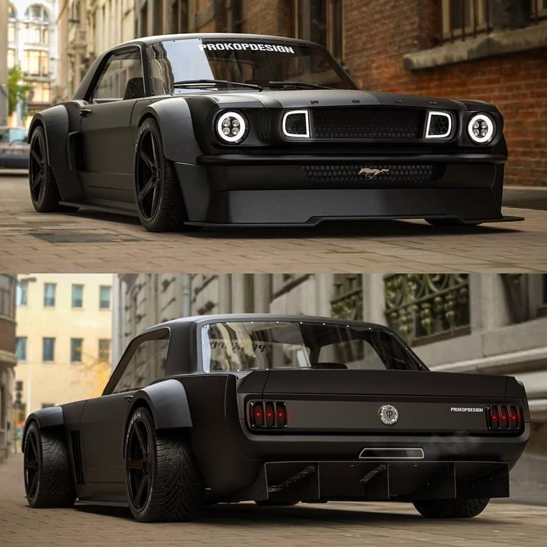 Black Horse 65 Ford Mustang Mustang Fordmustang Horse
