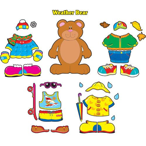 dress up bear printable Hello Fall! - CLEAR Music Therapy