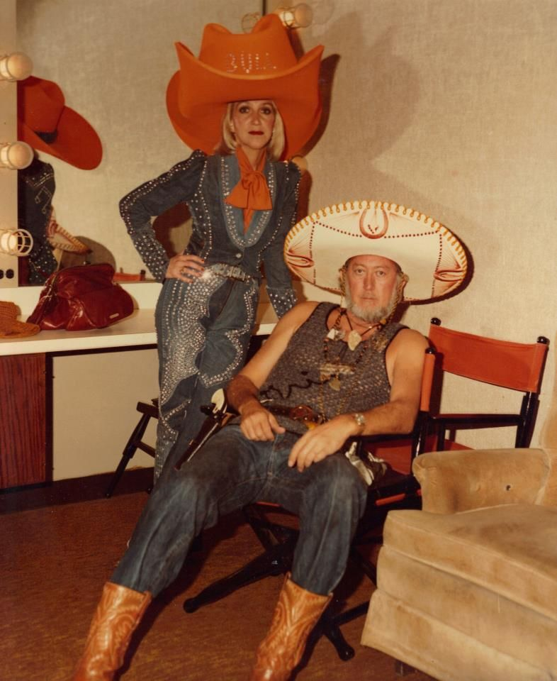 Another Halloween flashback...Jack Greene and Jeannie Seely.