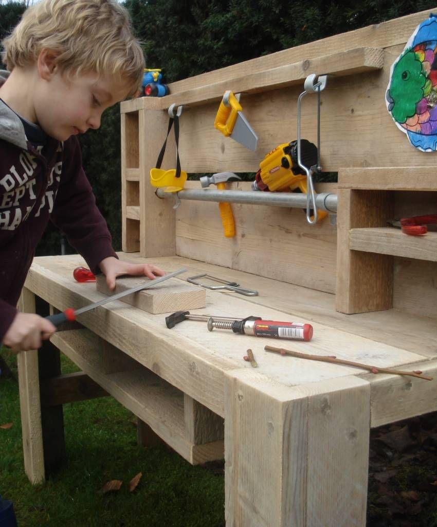 pure werktafel voor kids maken voor de kids pinterest children furniture wooden toys and. Black Bedroom Furniture Sets. Home Design Ideas
